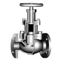 Buy cheap Bolted Bonnet Back Seal Design 3 Way Globe Valve For Sour Gas Service product