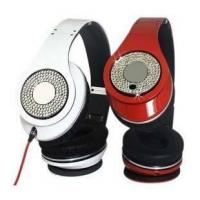 China Diamond Studio Beats By Dre Monster Headphone In Black/White/Red on sale