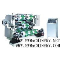 Buy cheap Automatic LFQ-A Series Vertical Slitting Rewinding Machine with PLC for plastic film product