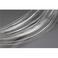 Buy cheap Soft Silver Plated Wire For Electrical Contacts / Nickel Plated Wire High Arc Erosion Resistance product