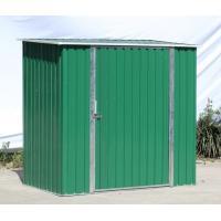 Buy cheap Hot Dipped Galvanized Steel Metal Storage Shed Flat Roof Garden Sheds product
