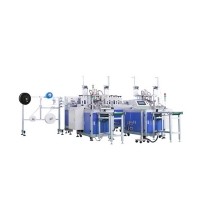 Buy cheap 80pcs/Min Anti Pollution Mask Manufacturing Machine product