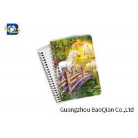 Buy cheap Unicorn Design Depth Effect A4 A5 A6 3D Lenticular Notebook For Student Stationery Eco-friendly product