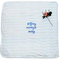 Buy cheap Eco Friendly Embroidered Baby Blankets Kids Garments With Fibre Padding product
