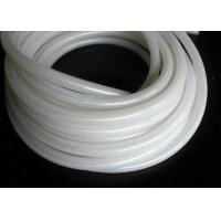Buy cheap Polyester Braid Silicone Rubber Tubing , Flexible Silicone Hose Food Grade Without Smell product