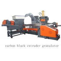 Buy cheap Carbon Black Single Twin Screw Two Stage Extruder Granulator Making Machine product