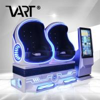 Buy cheap 4kw Power 2 Seater 9D Virtual Reality Cinema With 42 Big Screen Concole For Shopping Malls product