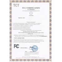 Shenzhen Sinoband Electric Co., Ltd. Certifications