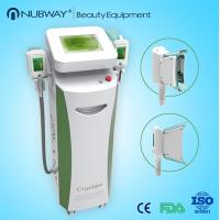 Buy cheap Frozen fat cryolipolysis cool shaping machine / cryotherapy for fat removal product