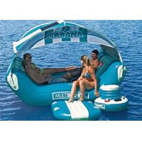 Buy cheap New Style 0.9mm PVC Tarpaulin Inflatable Water Parks / Inflatable Boat For Sea product