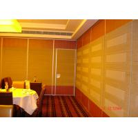 Buy cheap HPL Melamine Training Room Internal Partition Walls For Convention product