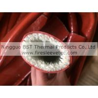 Buy cheap heat resistant silicone coated fiberglass braided sleeve product