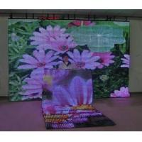 Buy cheap Transparent LED Curtain Display for Stage Backdrop 320 x 320 (mm *mm) P40 10000 (dot/m2) product
