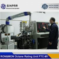 China Gasoline octane number tester SINPAR FTC-M with reference fuel blending system on sale