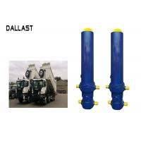 Buy cheap Fe FC Front End Multi Stage Telescopic Hydraulic Cylinder For Dump Truck / Trailer / Tipper product