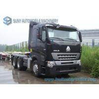 Buy cheap 420 HP Sinotruk HOWO A7 Tractor Truck 6x4 Trailer Truck Heavy Prime Mover AMT gearbox from wholesalers