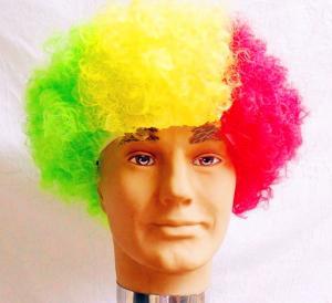 fans wig, sport wigs. party wigs.