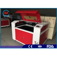 China High Precision Rotary Desktop Laser Engraving Machine For Wood Double Head Design on sale