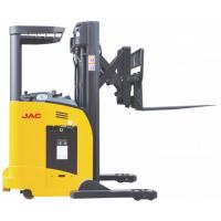 Buy cheap Single Scissor Sit Down Reach Truck Forklift 1.8 Ton Capacity High Speed Lifting product