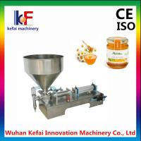 Buy cheap Hot sale vertical pneumatic ointment cream lotion filling machine product