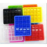 Buy cheap Commercial Closed Fancy Ice Cube Trays Compact With Lid Healthy High Capacity product