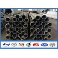 Quality 500KGS Design Load galvanised steel pipe with Bituminous Painting 30 m /s Wind Speed for sale