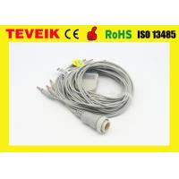 Buy cheap Banana 4.0 AHA Round 16pin Kenz ECG Cable With Integrated 10 Leadwires from wholesalers