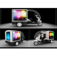 Buy cheap IP65 Waterproof LED Mobile Billboard Display , Motorcycle Moving LED Message Display product
