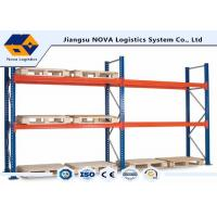 Buy cheap Corrosion Protection Pallet Warehouse Racking With Free Post Base Plate product