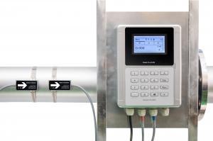 Buy cheap Waterproof Transit Time DN1200 External Pipe Flow Meter product