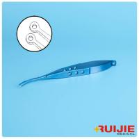 Buy cheap Microsurgery Instrument Titanium Material Medical Instruments Ophthalmic Lens Forceps product