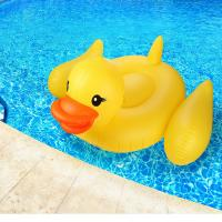 """Yellow Duck Pool Raft Huge 80"""" Rubber Duck Pool Float Inflatables For Adults & Kids"""