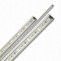 Buy cheap Front Emitting 60pcs 5050SMD 100cm Rigid Led Strip Light for Home Decoration product