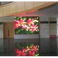 Buy cheap P7.62 indoor adversting Video display , led background panel product