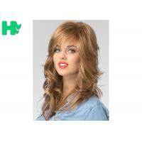 China European Hair Wig Synthetic Full Head Glueless Long Heat Resistant Hair Wigs on sale