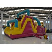 China Big Commercial Inflatable Obstacle Courses Outdoor Game 8 X 4 X 4m Safe Nontoxic on sale