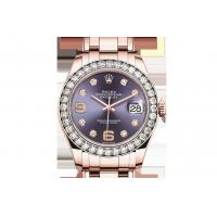 Newest Buy Cheap Rolex  Pearlmaster 39 Oyster Perpetual Oyster, 39 mm, Everose gold and diamonds 86285 Watches Sale