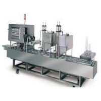 Buy cheap Fully Automatic Cup Filling & Sealing Packaging Machine product