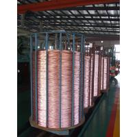 Buy cheap 40% Copper Clad Steel Inner Conductor With Corrosion Resistant Copper for CATV Cable product