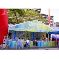 Buy cheap White Fabric Aluminum Frame Outdoor Event Tent for Mobile Phone Commercial Activities from Wholesalers