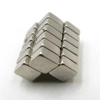 China Strong Rare Earth Neodymium Permanent Magnets Block N52 50mm x 50mm x 25mm on sale