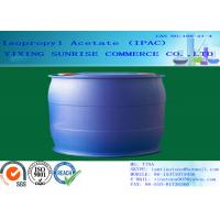 Buy cheap IPAC Isopropyl Acetate Paint Solvent CAS 108-21-4 With Pleasant Fragrance product