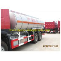 China Fuel Tanker Truck Sinotruk HOWO 6x4 20cubic with stainless steel on sale