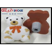 Buy cheap Grey Bear Soft Plastic Kids Furniture Knobs Children Bedroom Furniture Decorative Knobs White PVC Cabinet Knobs product