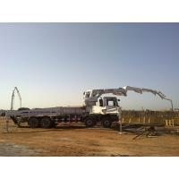 China 8x4 Concrete Pump Trucks 47m Isuzu Rz-Shaped Boom Truck 287kW on sale