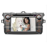 Buy cheap Android Car DVD player with GPS 3G Wifi for Toyota Corolla product