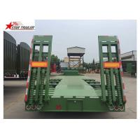 Buy cheap High And Low Panels Low Bed Semi Trailer Transportation Engineering Machinery product