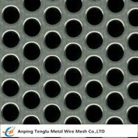 China Perforated Mesh Sheet|Round Hole Shape  0.5-5mm Thickness Customized Size on sale