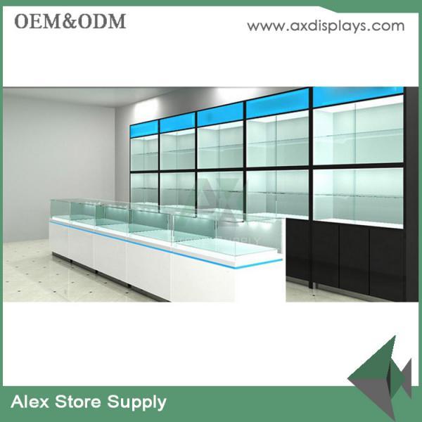 Mobile phone shop interior design glass display showcase store furniture 106902210 - Mobile shop interior design ideas ...