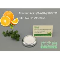 Buy cheap S - ABA CAS No 21293-29-8 Plant Growth Regulator Growth Inhibitor Hormone In Plants product